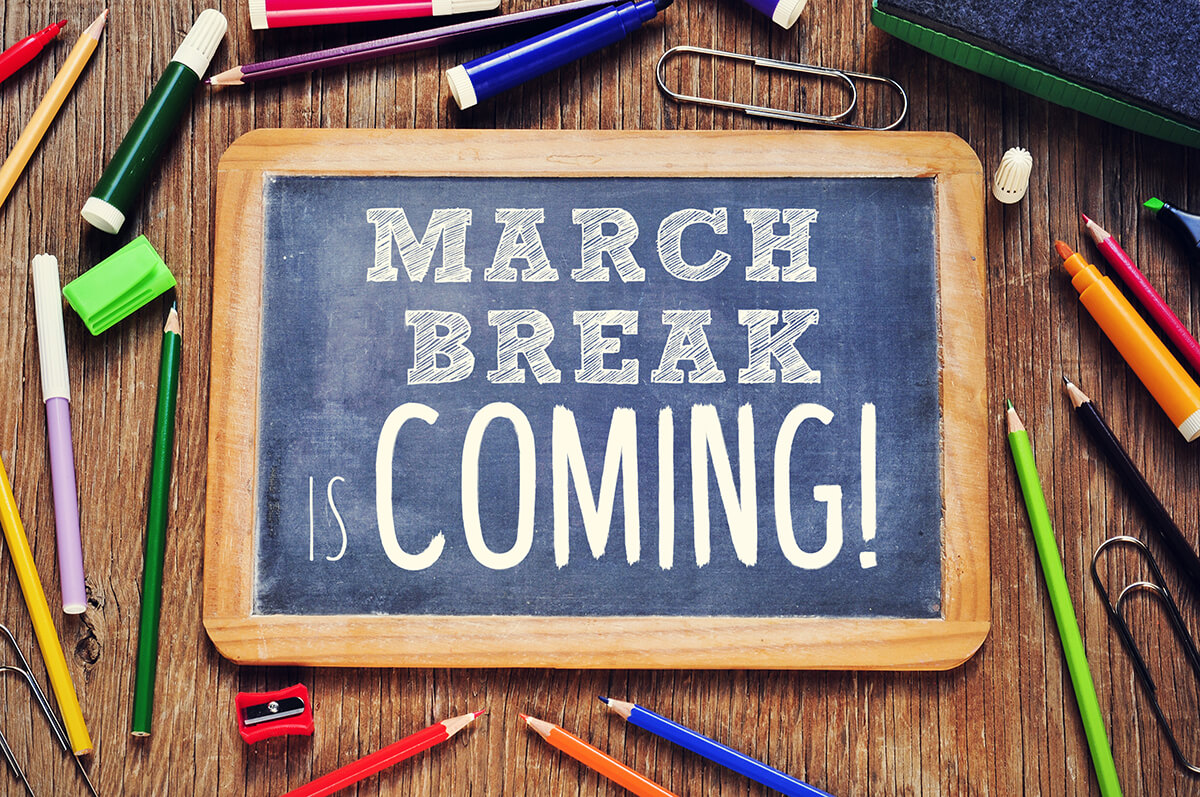 School's Out!  What to do this March Break